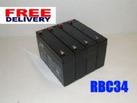 4x Leoch LP6-7.0s - UPS Replacement Battery Pack